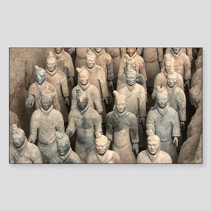 Terracotta Army, China. Sticker