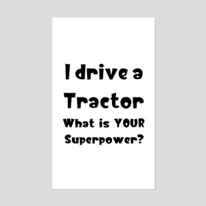 tractor Sticker (Rectangle)