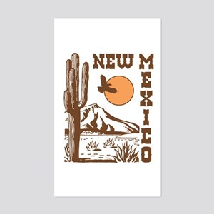 New Mexico Rectangle Sticker