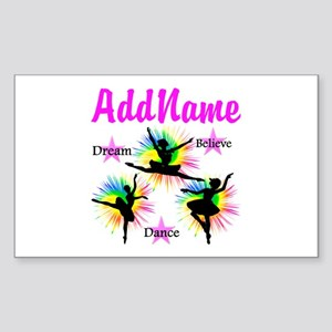 DANCER DREAMS Sticker (Rectangle)