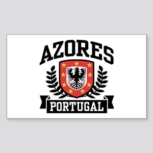 Azores Portugal Sticker (Rectangle)