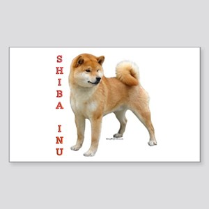Shiba 2 Rectangle Sticker