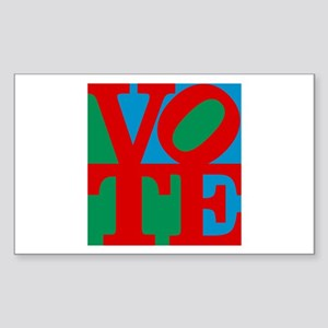 VOTE (3-color) Sticker
