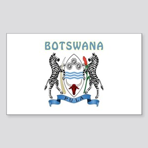 Botswana Coat of arms Sticker (Rectangle)
