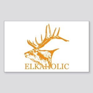 Elkaholic o Sticker (Rectangle)