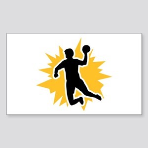 Dodgeball player Sticker (Rectangle)