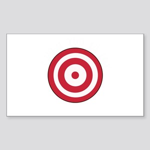 Dodgeball Target I Dare You Sticker