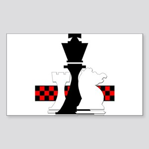 Chess Rectangle Sticker