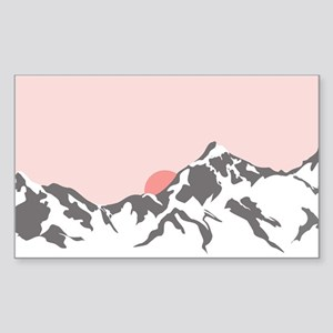 Mountain Sunrise Sticker