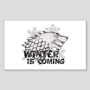 Winter is Coming Sticker (Rectangle)