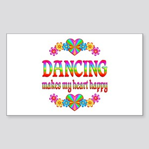 Dancing Happy Sticker (Rectangle)
