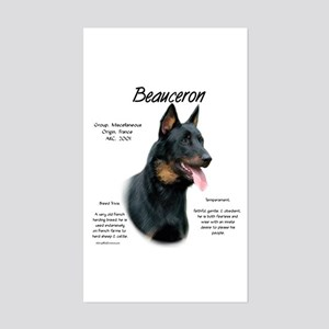 Beauceron Sticker (Rectangle)