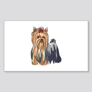 YORKSHIRE TERRIERS Sticker