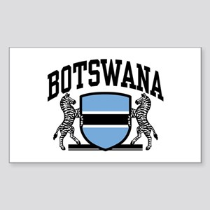 Botswana Sticker (Rectangle)