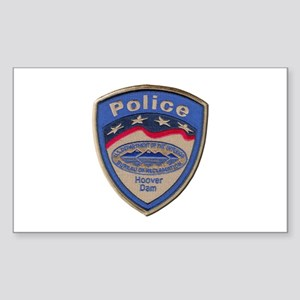 Hoover Dam Police Sticker