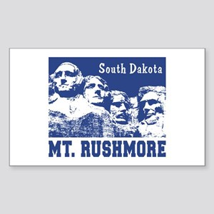 Mt. Rushmore South Dakota Rectangle Sticker