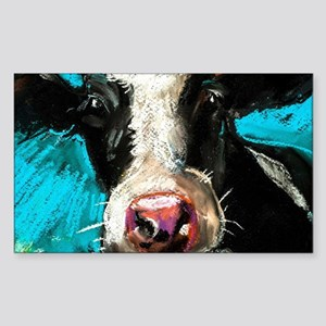 Cow Painting Sticker