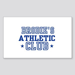 Brodie Rectangle Sticker