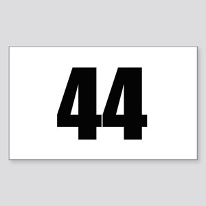 Barack Obama - 44 Rectangle Sticker