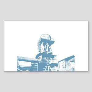 WaterTower Rectangle Sticker