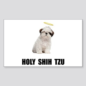 Holy Shih Tzu Sticker
