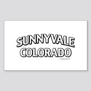Sunnyvale Colorado Sticker