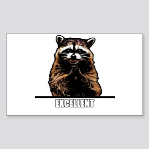 Evil Raccoon Sticker