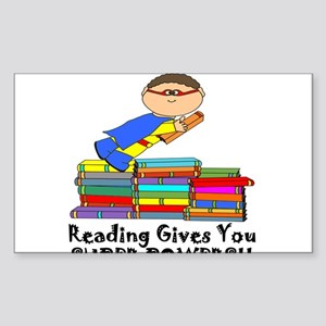 Reading Gives You Super Powers! Sticker