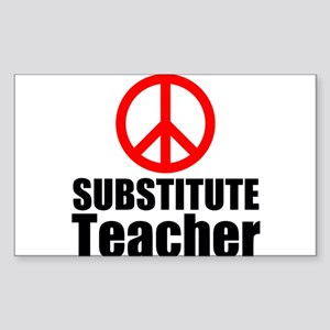 Substitute Teacher Sticker