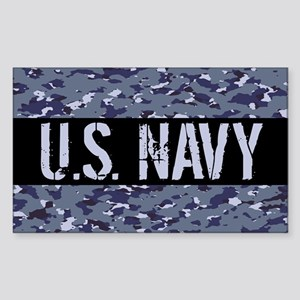 U.S. Navy: Camouflage (NWU I C Sticker (Rectangle)