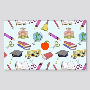 School Influence Sticker (Rectangle)