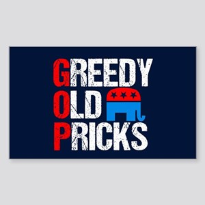 GOP Satire Sticker (Rectangle)