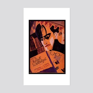 The Cabinet Of Dr. Caligari Sticker (Rectangle)