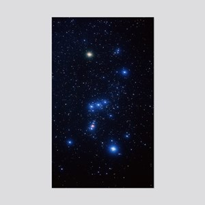 Orion constellation Sticker (Rectangle)