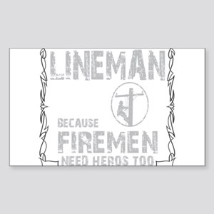 lineman because 1 Sticker