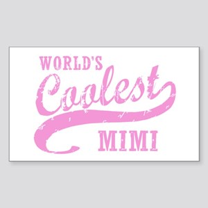 World's Coolest Mimi Sticker (Rectangle)