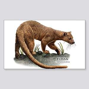 Fossa Sticker (Rectangle)