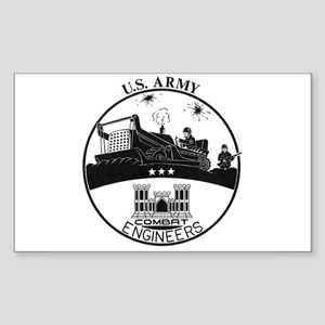 Army Combat Engineer Logo Sticker