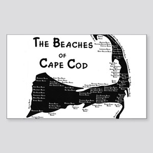EVERY BEACH ON THE CAPE Sticker (Rectangle)
