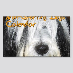 Non-Sporting Dogs CALENDAR Sticker (Rectangle)