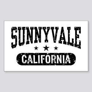 Sunnyvale California Sticker (Rectangle)