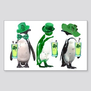 irishpenguins Sticker (Rectangle)