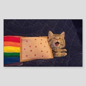 Nyan Cat Rectangle Stickers - CafePress