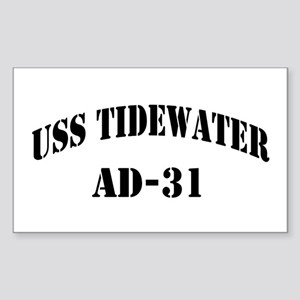 USS TIDEWATER Sticker (Rectangle)