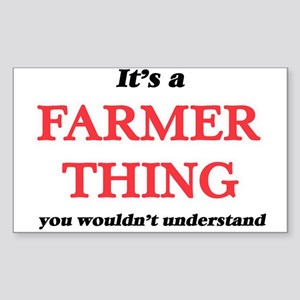 It's a Farmer thing, you wouldn't Sticker