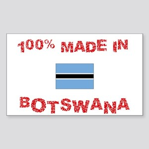 100 Percent Made In Botswana Sticker