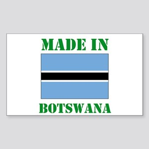 Made in Botswana Sticker