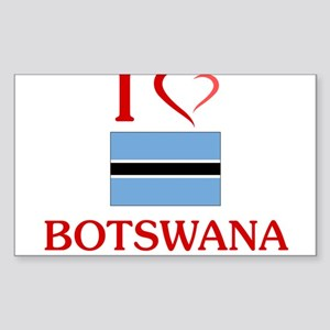 I Love Botswana Sticker