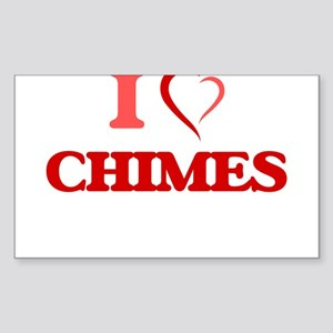 I love Chimes Sticker