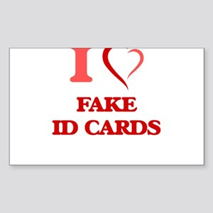 Fake Id Stickers - CafePress